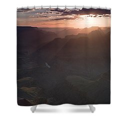 Grand Canyon Glow Shower Curtain
