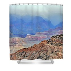 Grand Canyon Levels Shower Curtain