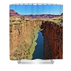 Grand Canyon National Park Colorado River Shower Curtain