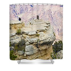 Shower Curtain featuring the photograph Grand Canyon Photo Op by Chris Dutton