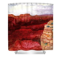 Grand Canyon S Rim Shower Curtain