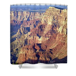 Shower Curtain featuring the photograph Grand Canyon South Rim by Norman Hall