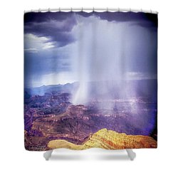 Grand Canyon Summer Storm Shower Curtain