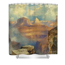 Grand Canyon Shower Curtain by Thomas Moran