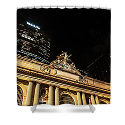 Grand Central Nocturne Shower Curtain by Steven Richman