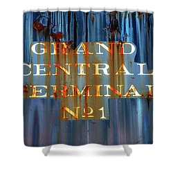 Shower Curtain featuring the photograph Grand Central Terminal No 1 by Karol Livote