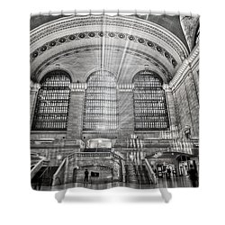 Grand Central Terminal Station Shower Curtain by Susan Candelario