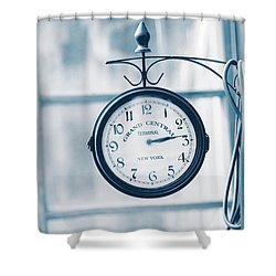 Grand Central Time 2 Shower Curtain