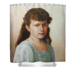 Grand Duchess Anastasia Nikolaevna Of Russia Shower Curtain by George Alexander