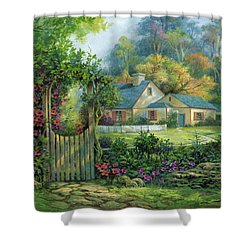 Grand Entrance Shower Curtain