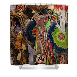 Grand Entry-3 Shower Curtain