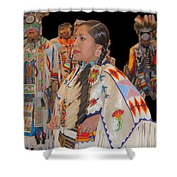 Grand Entry-4 Shower Curtain