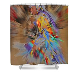 Grand Entry Moves Shower Curtain