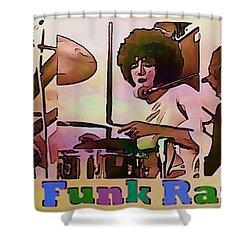 Grand Funk Railroad Shower Curtain