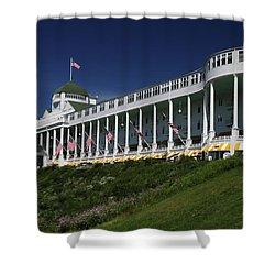 Grand Hotel Mackinac Island 2 Shower Curtain