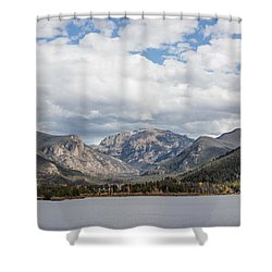 Grand Lake -- Largest Body Of Water In Colorado Shower Curtain by Carol M Highsmith