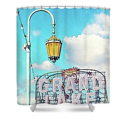 Grand Lake Merritt - Oakland, California Shower Curtain