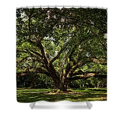 Grand Oak Tree Shower Curtain