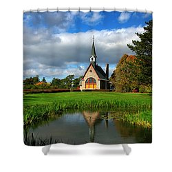 Grand-pre National Historic Site 04 Shower Curtain by Ken Morris