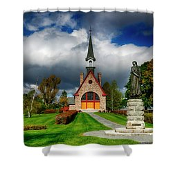 Grand-pre National Historic Site 06 Shower Curtain by Ken Morris