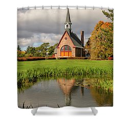 Grand-pre National Historic Site 01 Shower Curtain by Ken Morris