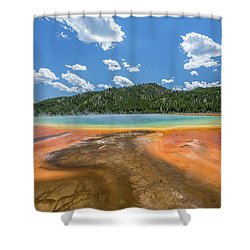 Grand Prismatic Shower Curtain