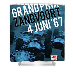 Grand Prix Racing Shower Curtain