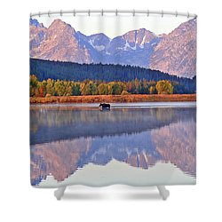 Grand Reflections Shower Curtain by Scott Mahon