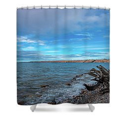 Grand Sable Banks Shower Curtain