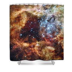 Grand Star Forming - A  Stellar Nursery Shower Curtain