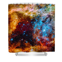 Grand Star-forming Region Shower Curtain
