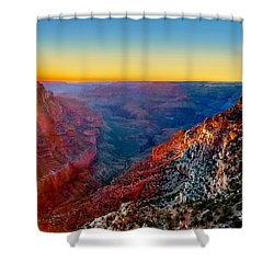 Grand Sunset Shower Curtain