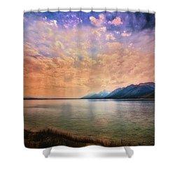Grand Teton National Park - Jenny Lake Shower Curtain
