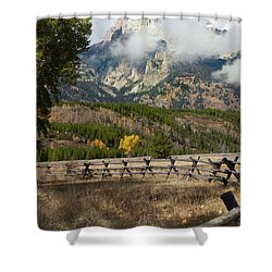 Grand Teton National Park, Wyoming Shower Curtain