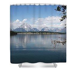 Grand Teton Range Shower Curtain