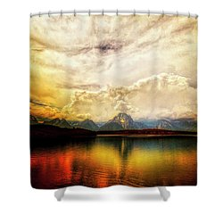 Grand Tetons - Jenny Lake No. 2 Shower Curtain