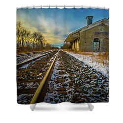 Grand Trunk Station  Shower Curtain