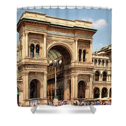 Grande Ingresso Shower Curtain by Jeff Kolker