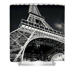 Grandest Tower Shower Curtain by John Rizzuto