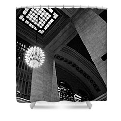 Grandeur At Grand Central Shower Curtain