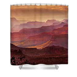 Grandeur Shower Curtain by Mikes Nature
