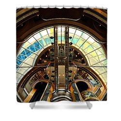 Grandeur Of The Seas Gold Centrum Shower Curtain