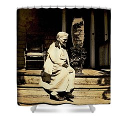Shower Curtain featuring the photograph Grandma Jennie by Paul W Faust - Impressions of Light
