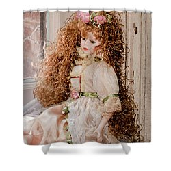 Grandma's Doll Shower Curtain