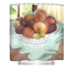 Grandma's Table Shower Curtain