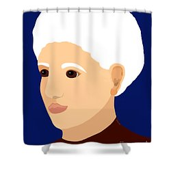 Grandmother Shower Curtain