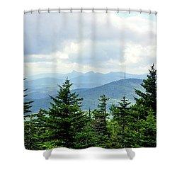 Grandmother Mountain Shower Curtain