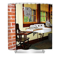 Grandmother's Kitchen Shower Curtain by Susan Savad