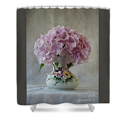 Grandmother's Vase   Shower Curtain