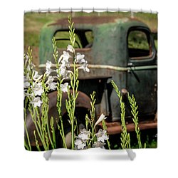 Grandpa's Truck Shower Curtain